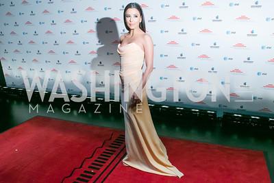 Eva Longoria. Photo by Alfredo Flores. Latino Inaugural 2013. John F. Kennedy Center for the Performing Arts. January 20, 2013.