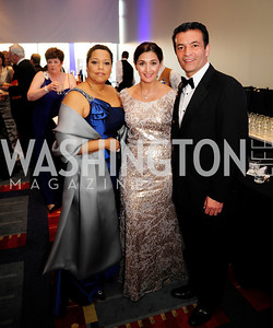 Gabrielle Urquhart,Tamara Darvish, Hamid Fallahi,March 23,2013,Leukemia Ball 2013,Kyle Samperton