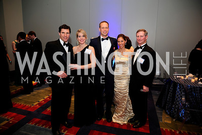 Shawn Kyle,Diane Kyle,Alex Menze,Christina Menze,John Draper.March 23,2013,Leukemia Ball 2013,Kyle Samperton