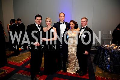 Shawn Kyle,Diane Kyle,Alex Menze,Christina Menze,John Draper.March 23,2013,Leukemia Ball 2013,Kyle Samperton