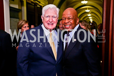 Rep. Jim Moran, Rep. Elijah Cummings. Photo by Tony Powell. Gershwin Prize Celebrating the Music of Carole King. Library of Congress. May 21, 2013
