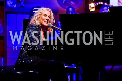 Carole King. Photo by Tony Powell. Gershwin Prize Celebrating the Music of Carole King. Library of Congress. May 21, 2013