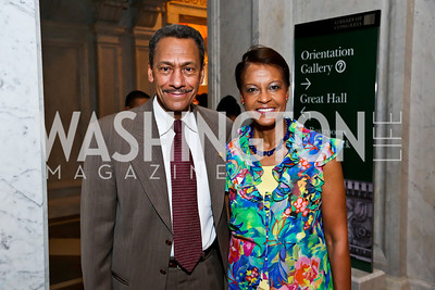 Rep. Mel Watt and Eulada Watt. Photo by Tony Powell. Gershwin Prize Celebrating the Music of Carole King. Library of Congress. May 21, 2013
