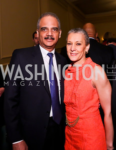 Attorney General Eric Holder and Sharon Malone. Photo by Tony Powell. Gershwin Prize Celebrating the Music of Carole King. Library of Congress. May 21, 2013