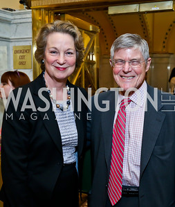 Susan Eisenhower, Morton Kondracke. Photo by Tony Powell. Gershwin Prize Celebrating the Music of Carole King. Library of Congress. May 21, 2013