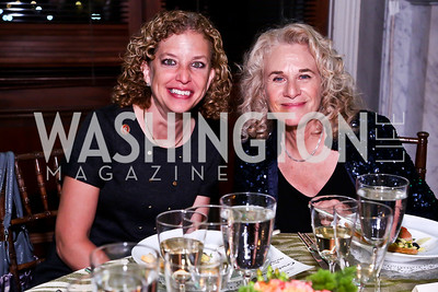Rep. Debbie Wasserman Schultz, Carole King. Photo by Tony Powell. Gershwin Prize Celebrating the Music of Carole King. Library of Congress. May 21, 2013