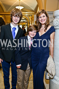Elijah Wells, Hayden Wells and Louise Goffin. Photo by Tony Powell. Gershwin Prize Celebrating the Music of Carole King. Library of Congress. May 21, 2013