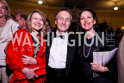 Laura Denise and Italian Amb. Claudio Bisogniero, Sally Oren. Photo by Tony Powell. Gershwin Prize Celebrating the Music of Carole King. Library of Congress. May 21, 2013