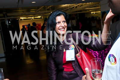 "Mohini Malhotra. Photo by Tony Powell. ""Courage on Canvas"" Exhibit Opening. Pepco Edison Place Gallery. October 2, 2013"