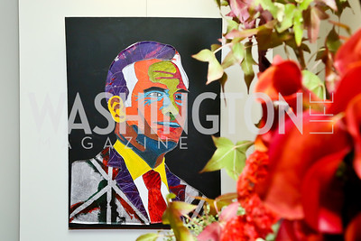 """Photo by Tony Powell. """"Courage on Canvas"""" Exhibit Opening. Pepco Edison Place Gallery. October 2, 2013"""