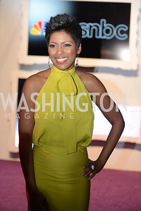 Tamron Hall, White House Correspondents' Dinner Afterparty hosted by MSNBC.  Red Carpet at the Italian Embassy. Saturday April 27, 2013.  Photo by Ben Droz.