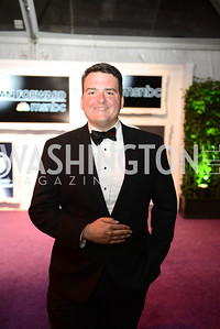 Dave Weigel, White House Correspondents' Dinner Afterparty hosted by MSNBC.  Red Carpet at the Italian Embassy. Saturday April 27, 2013.  Photo by Ben Droz.