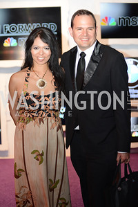Christina Sevilla, White House Correspondents' Dinner Afterparty hosted by MSNBC.  Red Carpet at the Italian Embassy. Saturday April 27, 2013.  Photo by Ben Droz.