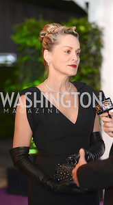 Sharon Stone, White House Correspondents' Dinner Afterparty hosted by MSNBC.  Red Carpet at the Italian Embassy. Saturday April 27, 2013.  Photo by Ben Droz.