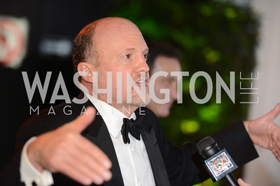 Jim Cramer, White House Correspondents' Dinner Afterparty hosted by MSNBC.  Red Carpet at the Italian Embassy. Saturday April 27, 2013.  Photo by Ben Droz.