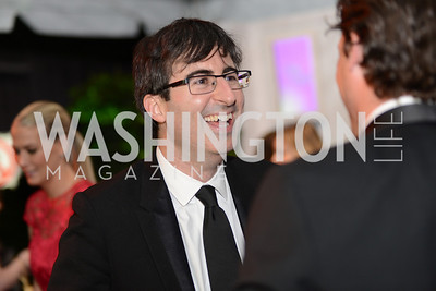 John Oliver, White House Correspondents' Dinner Afterparty hosted by MSNBC.  Red Carpet at the Italian Embassy. Saturday April 27, 2013.  Photo by Ben Droz.