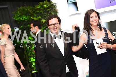 Josh Gad, White House Correspondents' Dinner Afterparty hosted by MSNBC.  Red Carpet at the Italian Embassy. Saturday April 27, 2013.  Photo by Ben Droz.