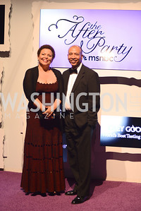 Debra Lee, White House Correspondents' Dinner Afterparty hosted by MSNBC.  Red Carpet at the Italian Embassy. Saturday April 27, 2013.  Photo by Ben Droz.