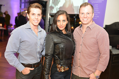 Bradley Smith, Pari Bradlee, David Halfrich, Malmaison Restaurant, part of the opens in Georgetown.  October 15, 2013.  Photo by Ben Droz.