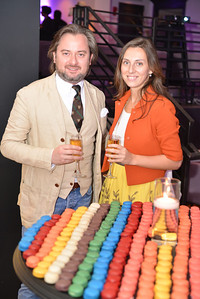 Sandro Keresa, Tati Ana, Malmaison Restaurant, part of the opens in Georgetown.  October 15, 2013.  Photo by Ben Droz.