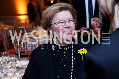 Senator Barbara Mikulski. Photo by Tony Powell. Marie Curie Charity Gala 2013. Ritz Carlton. October 29, 2013