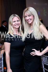 Tamera Klajn, Regan Hofmann. Photo by Tony Powell. Marie Curie Charity Gala 2013. Ritz Carlton. October 29, 2013