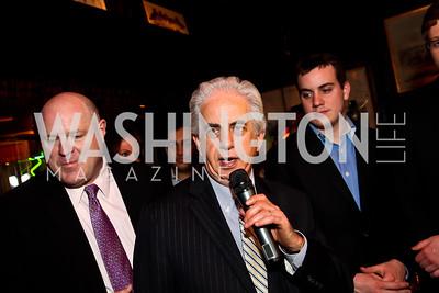 Ed Solomon. Photo by Tony Powell. 80th Anniversary of Martin's Tavern. April 3, 2013
