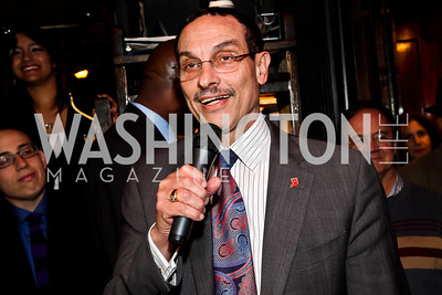 Mayor Vincent Gray. Photo by Tony Powell. 80th Anniversary of Martin's Tavern. April 3, 2013