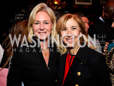 Julie Chase, Nancy Taylor-Bubes. Photo by Tony Powell. 80th Anniversary of Martin's Tavern. April 3, 2013