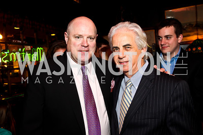 Billy Martin, Ed Solomon. Photo by Tony Powell. 80th Anniversary of Martin's Tavern. April 3, 2013