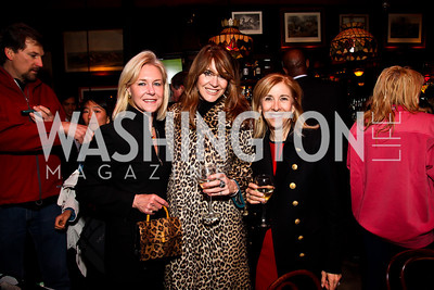 Julie Chase, Lynly Boor, Nancy Taylor-Bubes. Photo by Tony Powell. 80th Anniversary of Martin's Tavern. April 3, 2013
