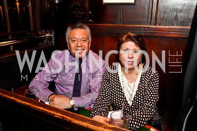 Angel and Anna Saltos. Photo by Tony Powell. 80th Anniversary of Martin's Tavern. April 3, 2013