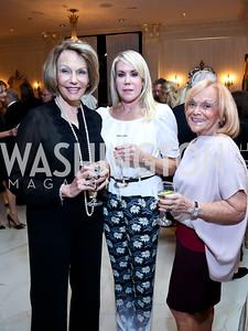 Carole Rhodes, Lynn Cibel, Francine Levinson. Photo by Tony Powell. An Evening to Benefit Innocents at Risk. Estrin Residence. October 24, 2013