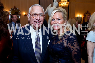 Donald and Debbie Sigmund. Photo by Tony Powell. An Evening to Benefit Innocents at Risk. Estrin Residence. October 24, 2013