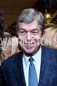 Sen. Roy Blunt. Photo by Tony Powell. An Evening to Benefit Innocents at Risk. Estrin Residence. October 24, 2013