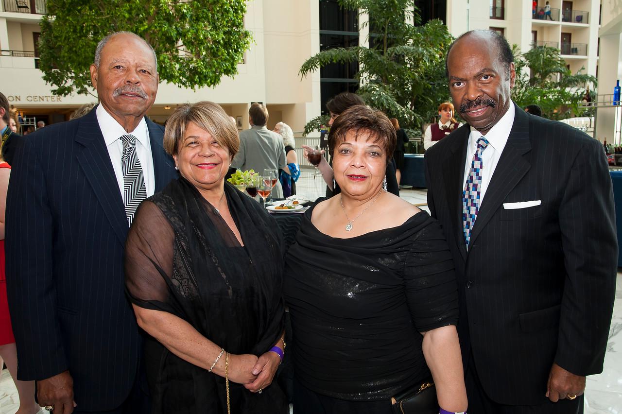 W. Montell Washington, Sheila Harley, Dianne Felton, Reggie Felton
