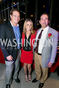 Brad Nierenberg, Jennifer Graham, Mark Zetlin. Photo by Alfredo Flores. Mercedes-Benz CLA Launch. Mercedes-Benz of Arlington. October 3, 2013.