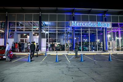 Photo by Alfredo Flores. Mercedes-Benz CLA Launch. Mercedes-Benz of Arlington. October 3, 2013