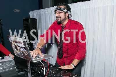 DJ SAAM. Photo by Alfredo Flores. Mercedes-Benz CLA Launch. Mercedes-Benz of Arlington. October 3, 2013.