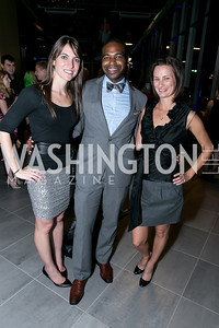 Chelsea Oudin, Ashton Randle, Monica Farrow. Photo by Alfredo Flores. Mercedes-Benz CLA Launch. Mercedes-Benz of Arlington. October 3, 2013
