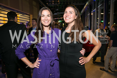 Carissa Maguire, Catalina Cabral. Photo by Alfredo Flores. Mercedes-Benz CLA Launch. Mercedes-Benz of Arlington. October 3, 2013.