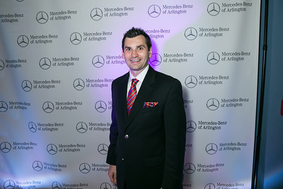 Rokas Beresniovas. Photo by Alfredo Flores. Mercedes-Benz CLA Launch. Mercedes-Benz of Arlington. October 3, 2013.