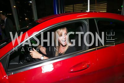 Amber Vick. Photo by Alfredo Flores. Mercedes-Benz CLA Launch. Mercedes-Benz of Arlington. October 3, 2013.