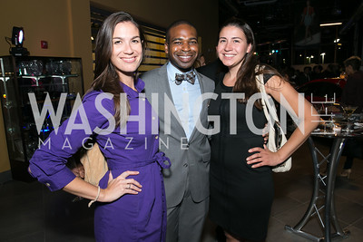 Carissa Maguire, Ashton Randle, Catalina Cabral. Photo by Alfredo Flores. Mercedes-Benz CLA Launch. Mercedes-Benz of Arlington. October 3, 2013.