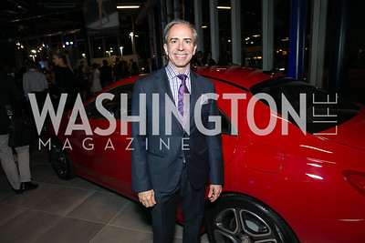 Ernesto Santalla. Photo by Alfredo Flores. Mercedes-Benz CLA Launch. Mercedes-Benz of Arlington. October 3, 2013.