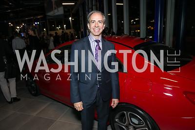 Ernesto Santalla. Photo by Alfredo Flores. Mercedes-Benz CLA Launch. Mercedes-Benz of Arlington. October 3, 2013.