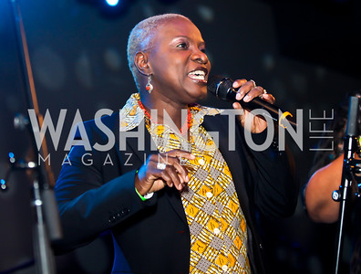 Angélique Kidjo. Photo by Tony Powell. Midnight Down Under. The Hamilton. January 21, 2013