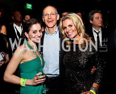 Sarah Venuto, Zeke Emanuel, Adrienne Elrod. Photo by Tony Powell. Midnight Down Under. The Hamilton. January 21, 2013