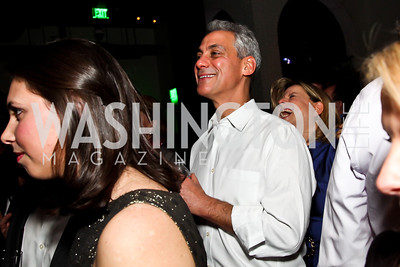 Chicago Mayor Rahm Emanuel. Photo by Tony Powell. Midnight Down Under. The Hamilton. January 21, 2013