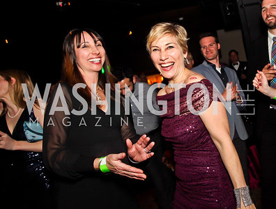 Anita Sharma, Debbie Fine. Photo by Tony Powell. Midnight Down Under. The Hamilton. January 21, 2013